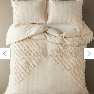 Urban outfitters tan duvet cover and duvet